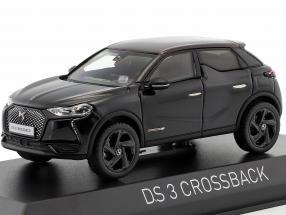 Citroen DS 3 Crossback Premiere 2019 black metallic / red 1:43 Norev