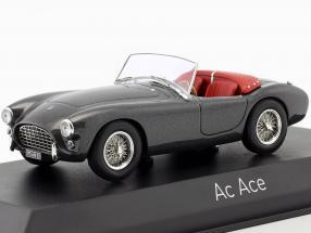 AC Ace year 1957 gray metallic 1:43 Norev