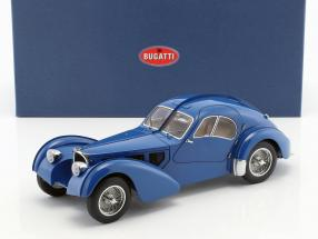 Bugatti 57S Atlantic built in 1938 blue 1:18 AUTOart