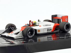 Ayrton Senna McLaren MP4/4 #12 World Champion Japan GP F1 1988 1:43 Minichamps
