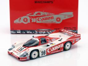 Porsche 956L Canon #16 24h LeMans 1984 GTi Engineering 1:18 Minichamps