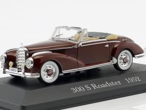 Mercedes-Benz 300 S Roadster (W188) Baujahr 1952 dunkel rot 1:43 Ixo Altaya