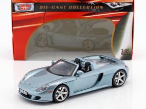 Porsche Carrera GT Year 2003 blue / silver 1:18 MotorMax