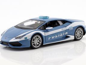 Lamborghini Huracan LP 610-4 Police blue / white 1:24 Maisto