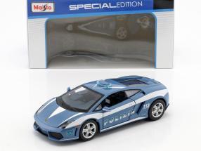 Lamborghini Gallardo LP 560-4 police blue / white 1:24 Maisto