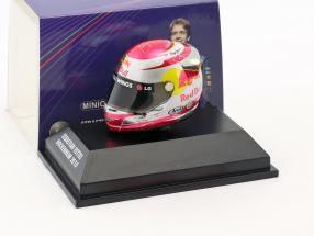 S. Vettel Red Bull GP Hockenheim Formula 1 World Champion 2010 Helmet 1:8 Minichamps