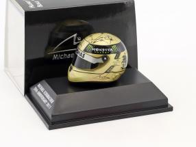 M. Schumacher Mercedes F1 W03 GP Spa Formula 1 2011 Helmet 1:8 Schuberth