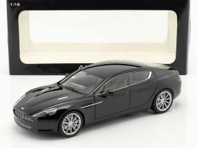 Aston Martin Rapide Year 2010 black 1:18 AUTOart