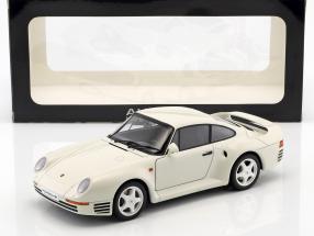 Porsche 959 Baujahr 1986 weiß 1:18 AUTOart