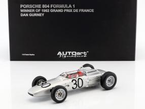 Dan Gurney Porsche 804 #30 Winner GP France Formel 1 1962 1:18 AUTOart