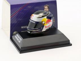 S. Vettel Red Bull GP Silverstone formula 1 2009 helmet 1:8 Minichamps