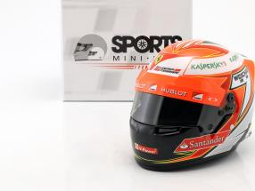 Kimi Räikkönen Ferrari F14T #7 Formel 1 2014 Helm 1:2 Bell