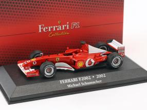 Michael Schumacher Ferrari F2002 #1 World Champion Formel 1 2002 1:43 Atlas