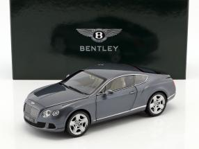 Bentley Continental GT Thunder Year 2011 blue-gray metallic 1:18 Minichamps