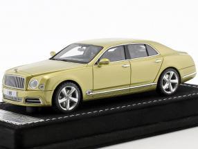 Bentley Mulsanne Speed Geneva Motorshow 2016 julep gold 1:43 LookSmart