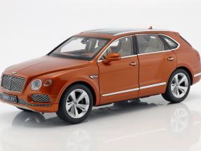 Bentley Bentayga Baujahr 2017 orange flame 1:18 Kyosho