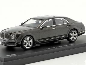 Bentley Mulsanne Year 2014 dark brown metallic 1:43 Kyosho