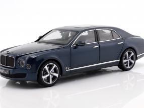 Bentley Mulsanne Speed Marlin blue metallic 1:18 Kyosho