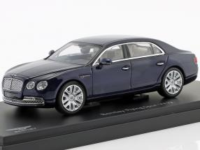 Bentley Flying Spur W12 dark Blue Metallic 1:43 Kyosho