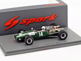 Alan Rees Cooper T81 #14 Great Britain GP formula 1 1967 1:43 Spark