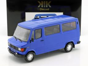 Mercedes-Benz 208 D Bus year 1988 blue 1:18 KK-Scale
