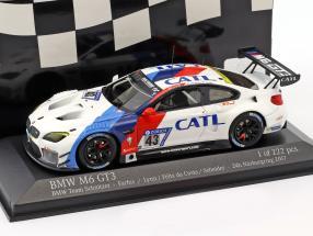 BMW M6 GT3 #43 24h Nürburgring 2017 Farfus, Lynn, Da Costa, Schneider 1:43 Minichamps