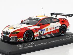 BMW M6 GT3 #42 4th 24h Nürburgring 2017 Wittmann, Blomqvist, Tomczyk, Farfus 1:43 Minichamps