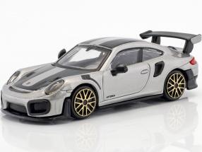Porsche 911 (991 II) GT2 RS Street Fire silber 1:43 Bburago
