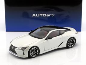 Lexus LC 500 weiß metallic 1:18 AUTOart