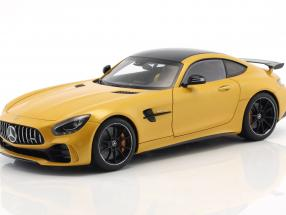 Mercedes-Benz AMG GT-R year 2017 solar beam yellow metallic 1:18 AUTOart