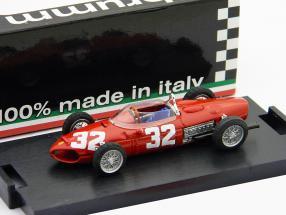 G. Baghetti Ferrari 156 #32 GP Italy formula one 1961 1:43 Brumm