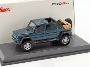 Mercedes-Benz Maybach G650 Landaulet blue metallic 1:43 Schuco