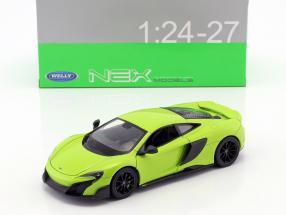 McLaren 675LT Baujahr 2017 hellgrün 1:24 Welly