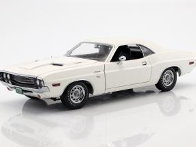 Dodge Challenger R/T year 1970 Movie Vanishing Point (1971) White 1:18 Greenlight