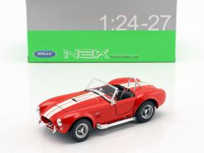 Shelby Cobra SC 427 year 1965 red / white 1:24 Welly