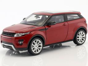 Range Rover Evoque year 2011 firenze red 1:24 Welly
