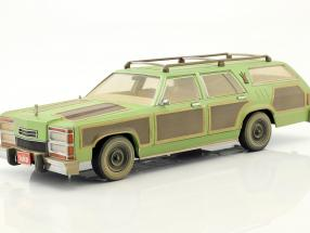 Wagon Queen Family Truckster 1979 Movie National Lampoon's Vacation 1983 green / brown 1:18 Greenlight