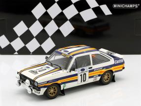 Ford Escort RS 1800 #10 Winner Rallye Acropolis 1980 Vatanen, Richards 1:18 Minichamps