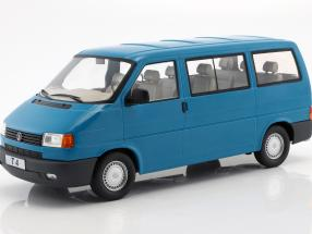 Volkswagen VW T4 bus Caravelle year 1992 turquoise 1:18 KK-Scale