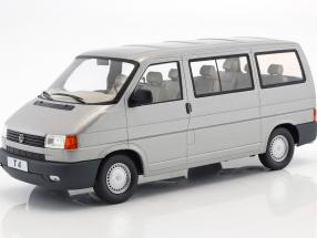 Volkswagen VW T4 bus Caravelle year 1992 grey metallic 1:18 KK-Scale