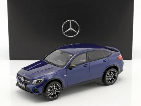 Mercedes-Benz AMG GLC 43 Coupe brillantblau  GT-Spirit