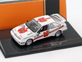 Ford Sierra RS Cosworth #11 Brünn GP WTCC 1987 Winkelhock, Biela 1:43 Ixo