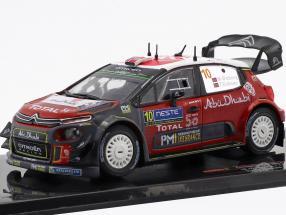 Citroen C3 WRC #10 2nd Rallye Finland 2018 Ostberg, Eriksen 1:43 Ixo
