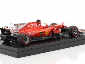 Sebastian Vettel Ferrari SF70H #5 3th Italien GP Formel 1 2017  BBR