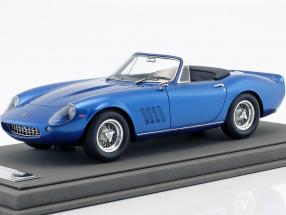 Ferrari 275 GTS/4 N.A.R.T Year 1967 Steve McQueen blue metallic 1:18 BBR