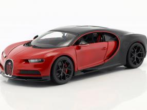 Bugatti Chiron Sport 16 red / black 1:18 Bburago