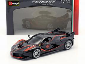 Ferrari FXX-K #5 black / red 1:18 Bburago