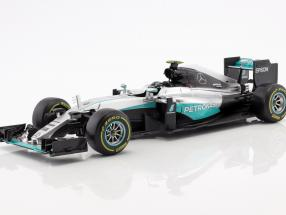 Nico Rosberg Mercedes F1 W07 Hybrid #6 World Champion formula 1 2016 1:18 Bburago