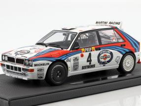 Lancia Delta HF Integrale #4 Winner Rallye Monte Carlo 1992 Auriol, Occelli 1:18 TopMarques