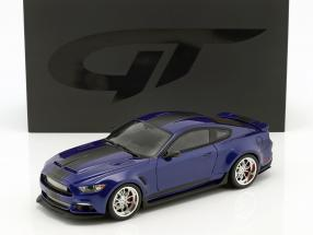 Ford Shelby GT-350 Widebody year 2017 dark blue 1:18 GT-Spirit